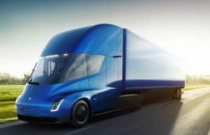 Caminhão autônomo Tesla Semi
