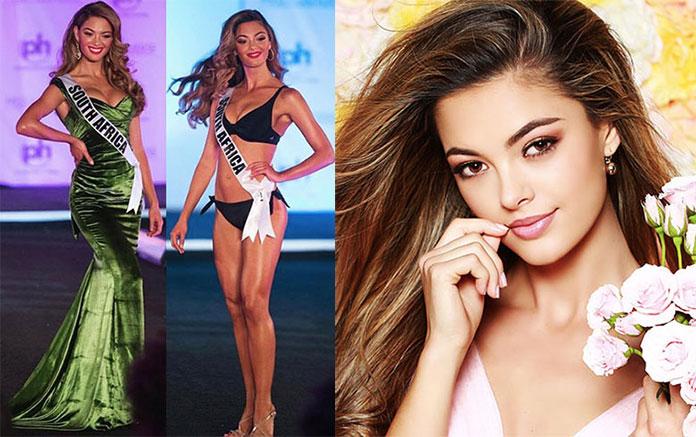 Sul-africana é coroada Miss Universo 2017