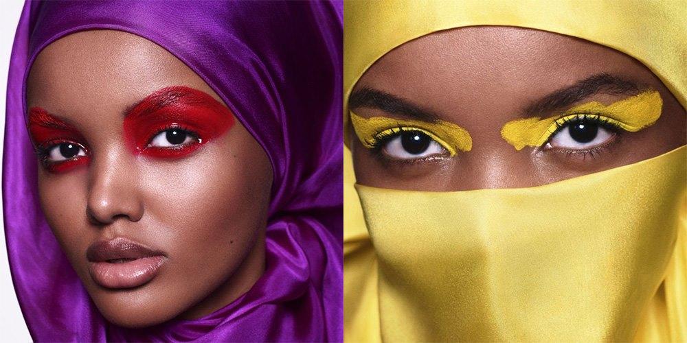 Modelo muçulmana faz sucesso no mundo da moda