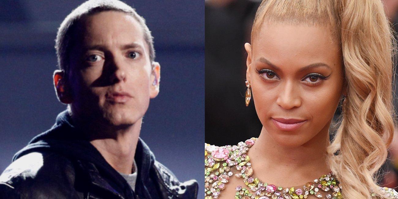 Eminem e BeyoncÉ lanÇam mÚsica juntos; ouÇa 'Walk on Water'
