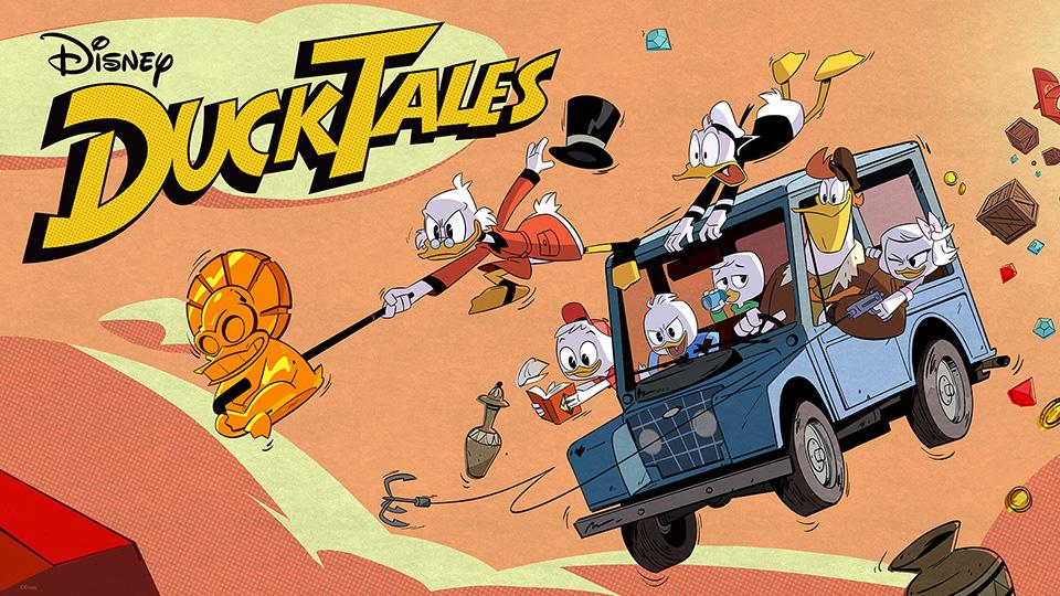 Os novos Ducktales – Os Caçadores de Aventuras no SBT