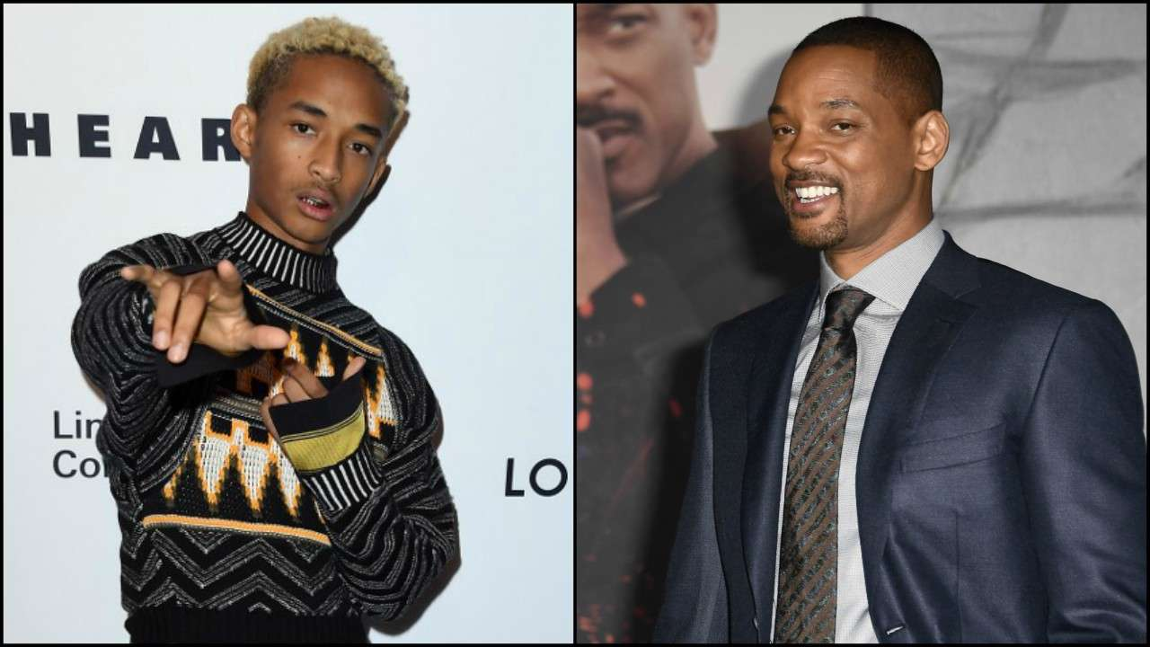 Will Smith homenageia Jaden Smith por sua marca no Spotify