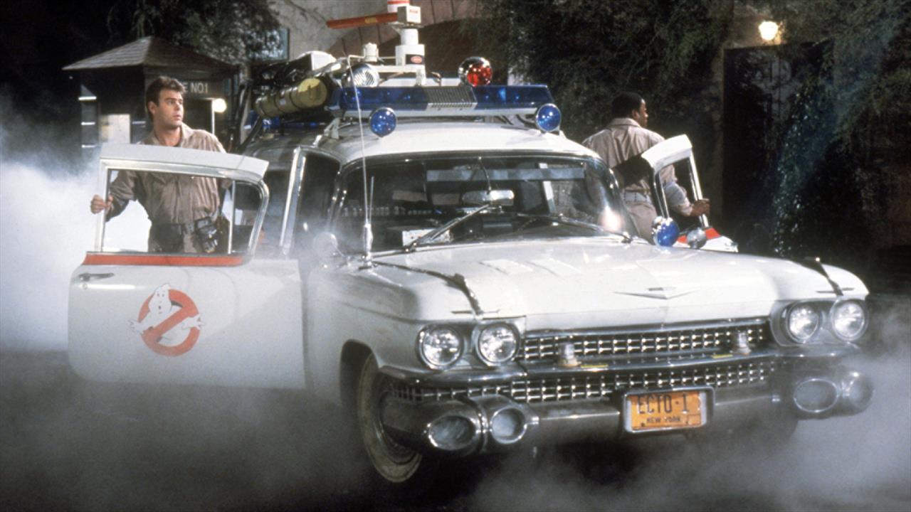Carro dos Caça-Fantasmas aparece em perseguição policial nos EUA