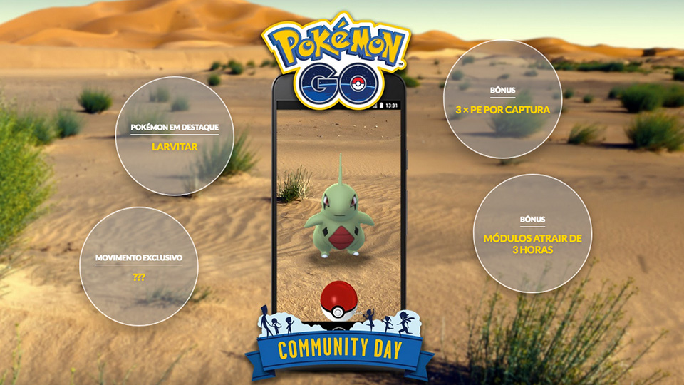 Dia da Comunidade Pokémon – evento especial com vice diretor da Niantic no Brasil