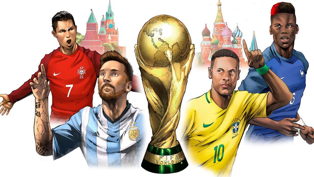 Marvel e ESPN lançam quadrinhos sobre a Copa do Mundo