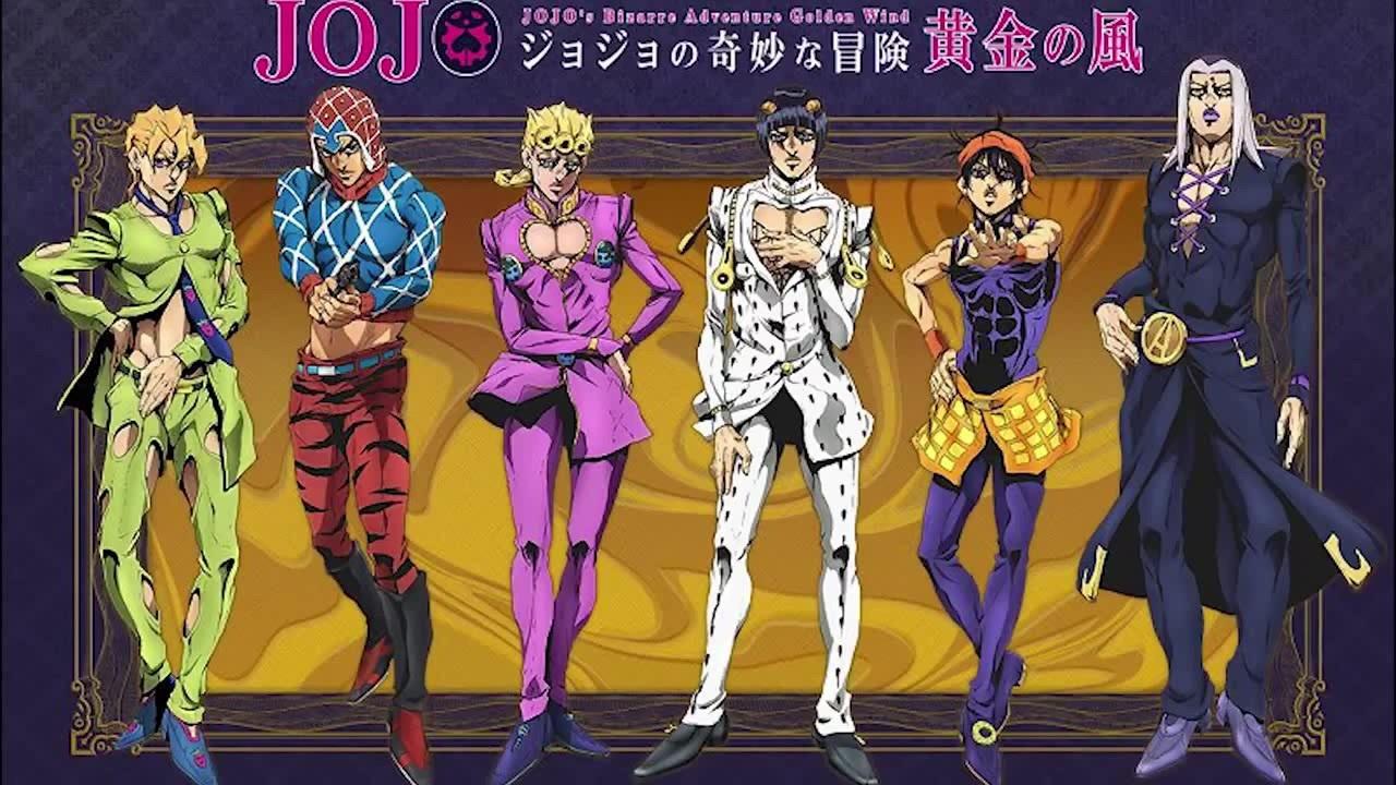 Anime de JoJo's Bizarre Adventure: Vento Aureo ganha primeiro teaser