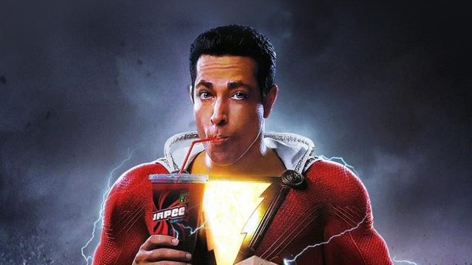 Shazam! ganha novo cartaz com transformação do herói estilo Quadrinhos
