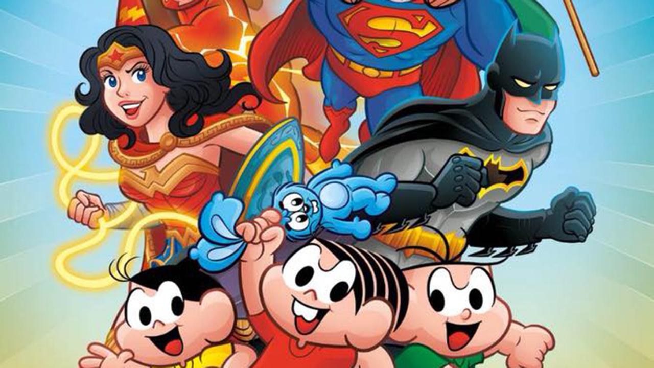 Veja todas as capas do crossover entre Turma da Mônica e Liga da Justiça