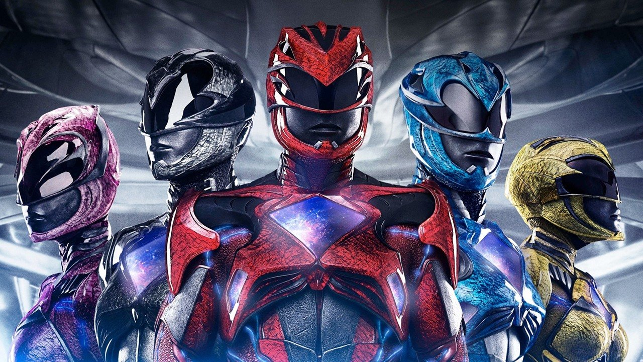Power Rangers ganha nova chance nos cinemas