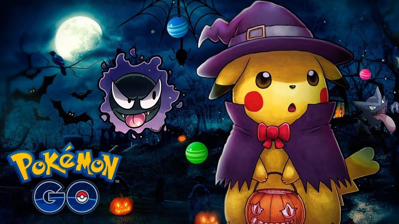 Novidades de Halloween em Pokémon GO
